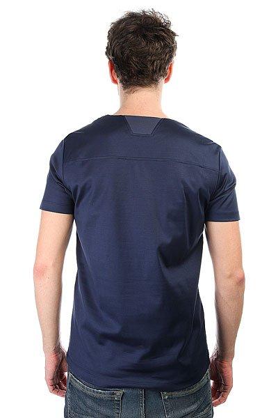 Футболка Le Coq Sportif Lcs Curva Dress Blues