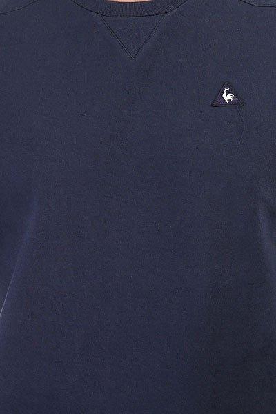 Толстовка свитшот Le Coq Sportif Chouki Crew Sweat Dress Blues