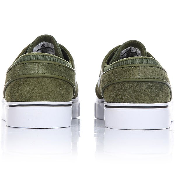 Кеды низкие Nike Zoom Stefan Janoski Legion Green White Black