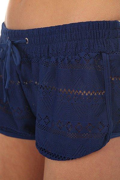 Шорты классические женские Roxy Drop Diamond Blue Depths