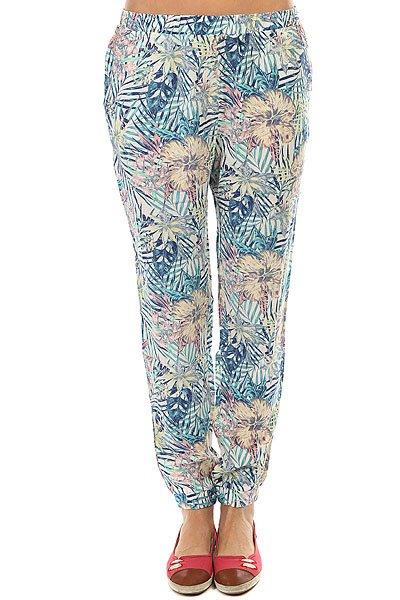 Штаны прямые женские Roxy Easy Peasy Pant Marshmallow Beyond