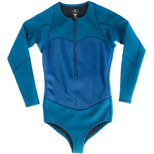 Гидрокостюм (Комбинезон) женский Roxy Pop1mbikinisprg Blue Aster