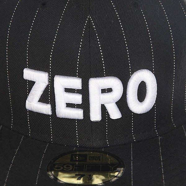 Бейсболка с прямым козырьком Zero Army Pinstripe