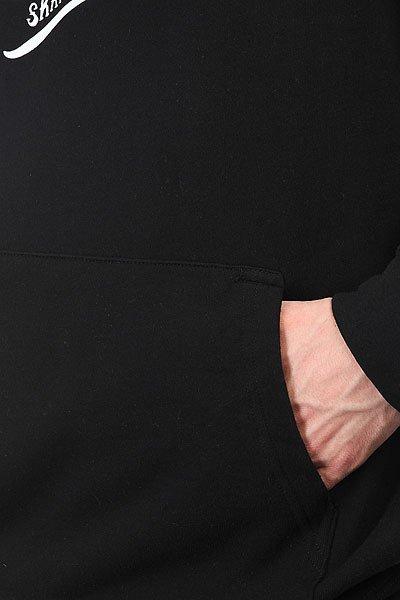 Толстовка кенгуру Cliche Swanski Pullover Black