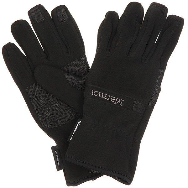 Перчатки сноубордические Marmot Windstopper Glove Black
