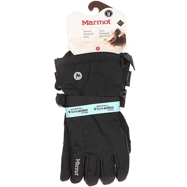 Перчатки сноубордические женские Marmot Randonnee Glove Black