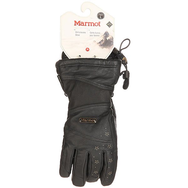 Перчатки сноубордические женские Marmot Aurora Glove Black