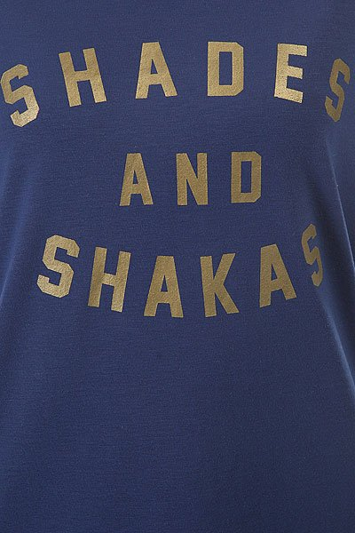 Гидрофутболка женская Roxy Shade&shakasss Blue Depths