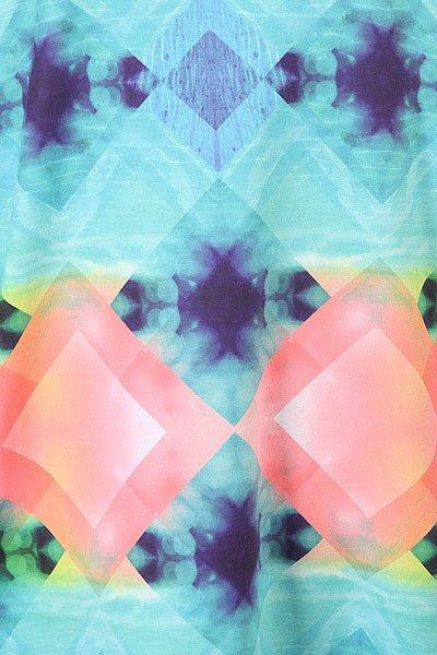 Гидрофутболка женская Roxy Popsurfss Marshmallow Pop Surf