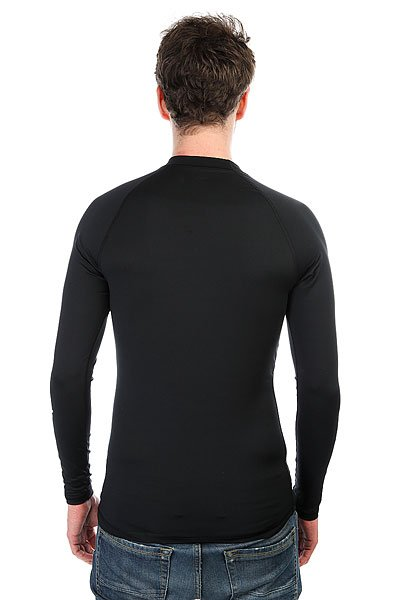 Гидрофутболка Quiksilver All Time Ls Black