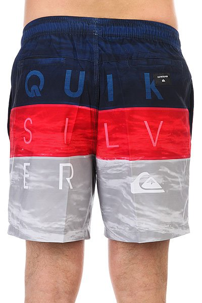 Шорты пляжные Quiksilver Wordwavevol17 Quik Red