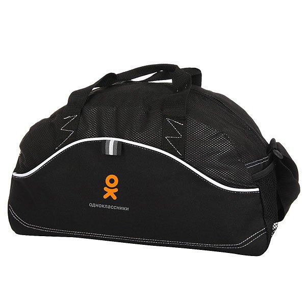 Сумка Одноклассники Спортивная Boomerang Logo Черная