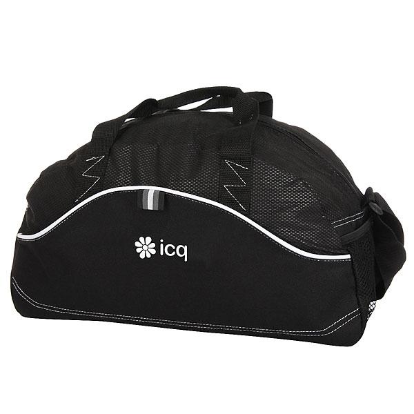 Сумка Спортивная ICQ Boomerang Logo Черная