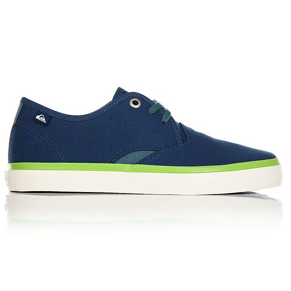 Кеды низкие детские Quiksilver Shorebreak Blue White Green