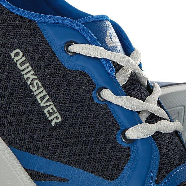 Кеды низкие детские Quiksilver Oceanside Blue Grey