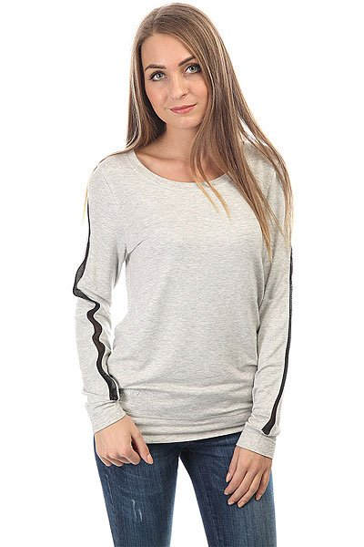 Лонгслив женский Roxy Lacily Fleece Heritage Heather