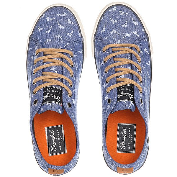 Кеды низкие женские Wrangler Starry Blue