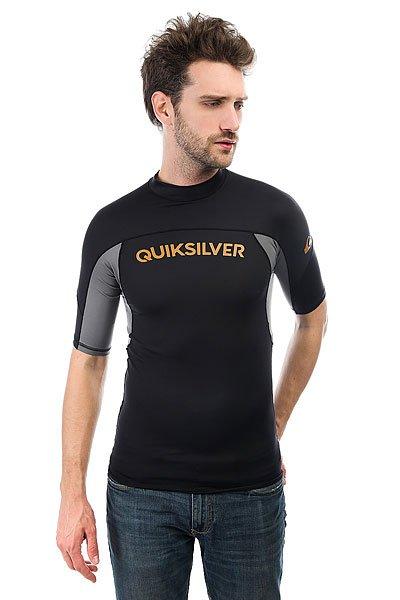 Гидрофутболка Quiksilver Performer Black/Quiet Shade