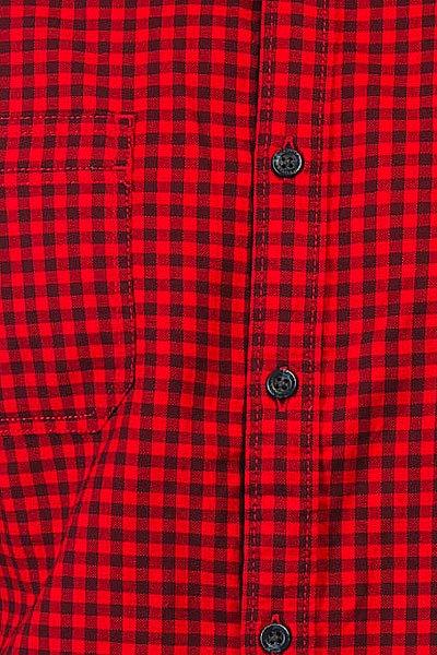 Рубашка в клетку Quiksilver Fortenightsls Port Royale Gingham