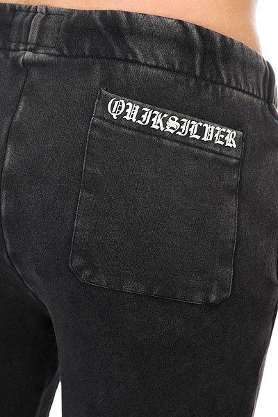 Штаны спортивные Quiksilver Skullcrosssweat Black