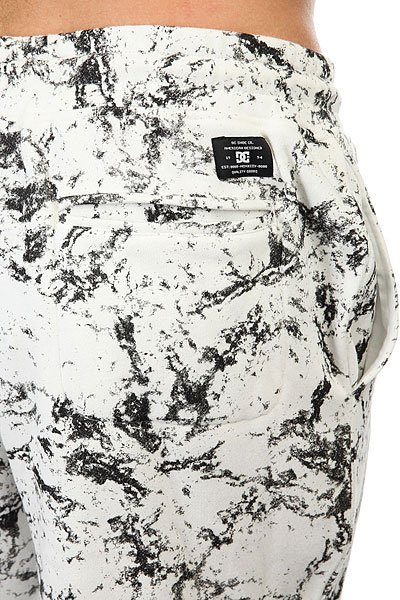 Шорты классические DC Shoes Frayser Short White Storm Pri