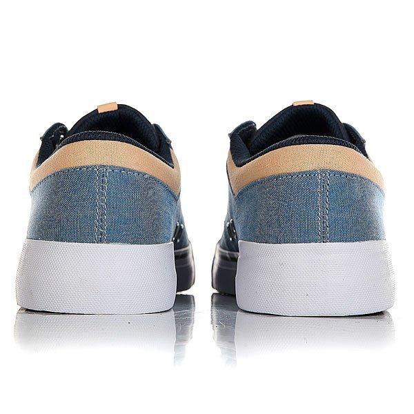 Кеды низкие женские DC Danni Tx Se Blue/White/Orange