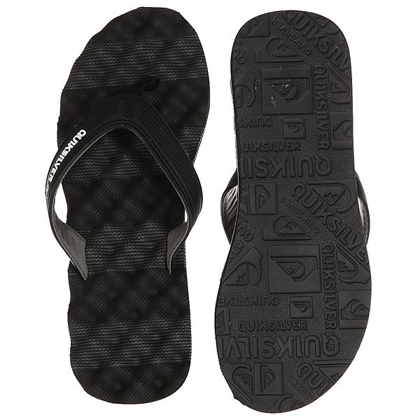 Вьетнамки Quiksilver Massage Black