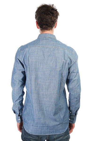 Рубашка DC Arrowood Ls Indigo Chambray
