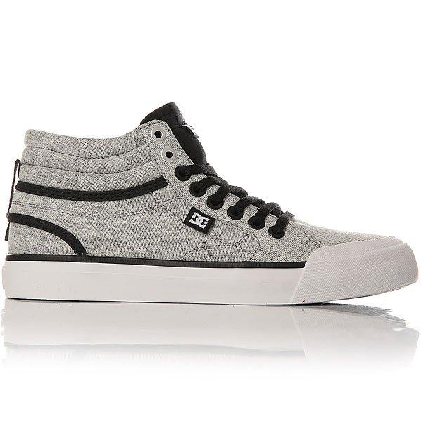 Кеды высокие женские DC Shoes Evan Txse Black/Charcoal