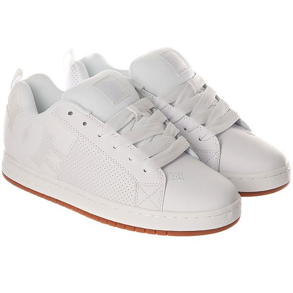 Кеды низкие DC Court Graffik White/Gum