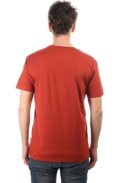 Футболка Quiksilver Livetofish Red Ochre