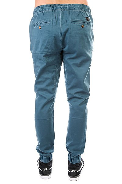 Штаны прямые Quiksilver Fonic Indian Teal