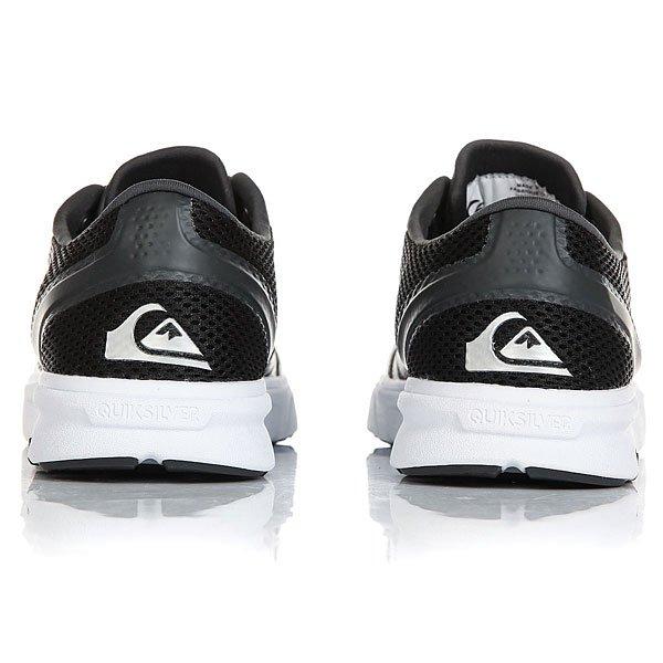 Кроссовки Quiksilver Amphibian Plus Black/Grey/White