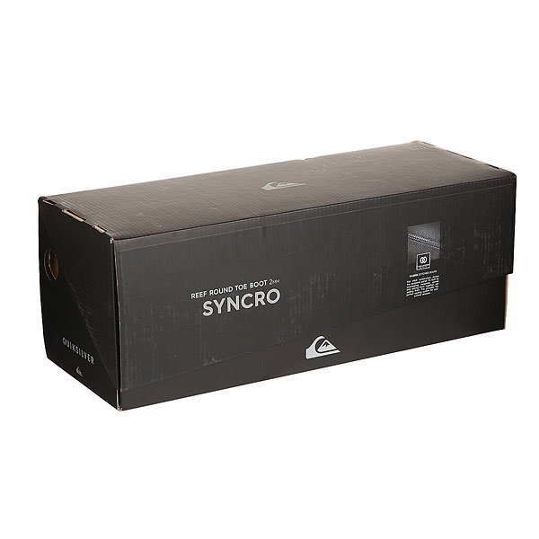 Гидроботинки Quiksilver Qs Syncro 3m Rt Black