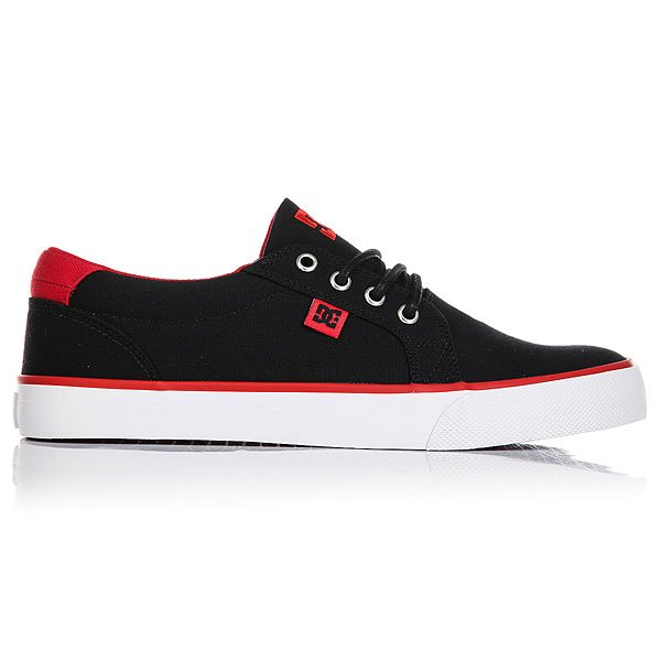 Кеды низкие DC Council Tx Black/Red/White
