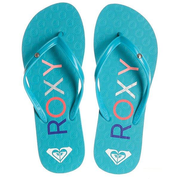 Вьетнамки детские Roxy Rg Sandy White/Blue