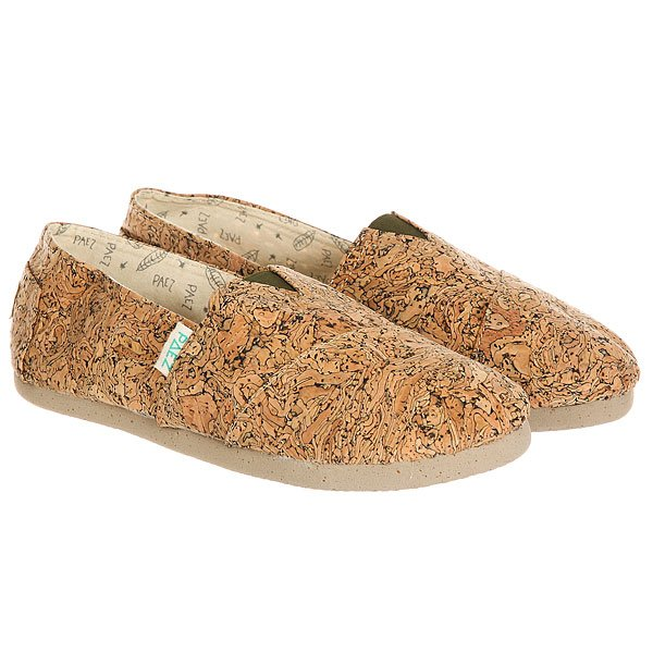 Эспадрильи женские Paez Original Cork Stoned Cork