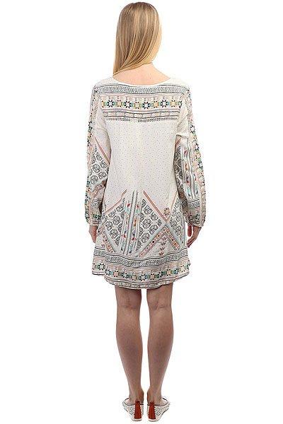 Платье женское Roxy Aprilmorning Marshmallow Tex Mex
