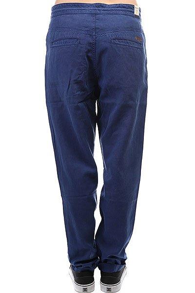 Штаны прямые женские Roxy Manoflife Blue Depths