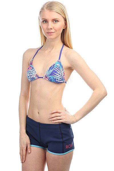 Бюстгальтер женский Roxy Mix Blossom Tt J Royal Blue Beyond Lo