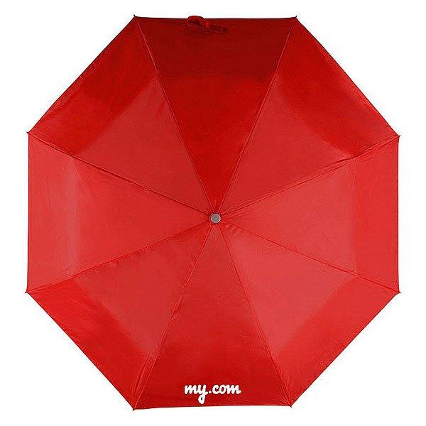 Зонт Складной My.com Сан Леоне Logo Красный