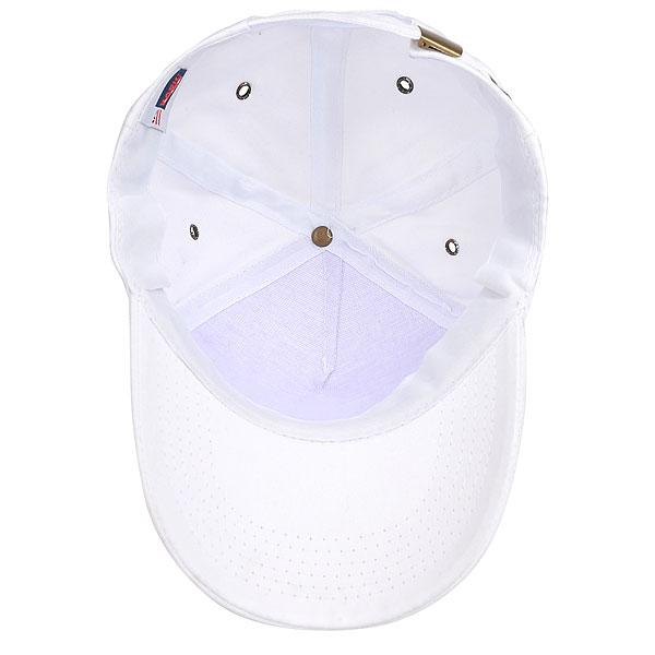 Бейсболка Классическая Mail.Ru New York Logo Белая