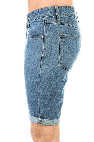 Шорты джинсовые Запорожец Basic Denim Short Regular Flex Classic Blue
