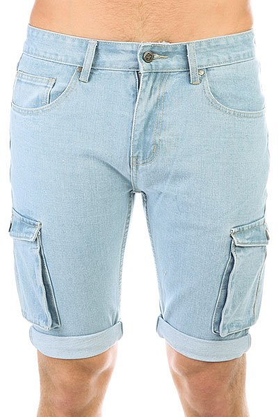 Шорты джинсовые Запорожец Pocket Denim Short Zap Regular Flex Classic Blue