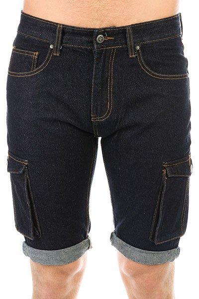 Шорты джинсовые Запорожец Basic Denim Short Zap Regular Flex Raw Blue