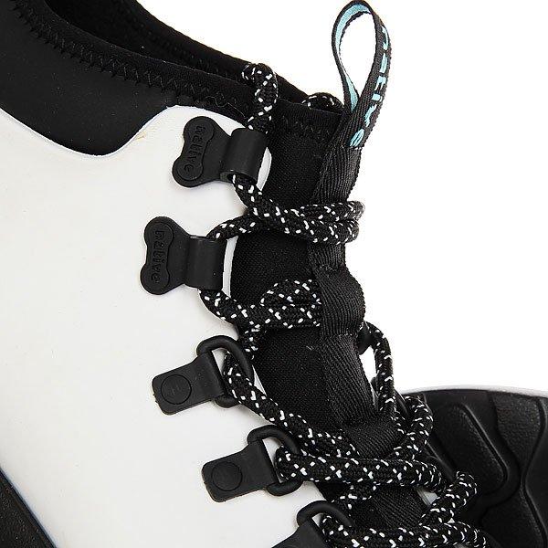 Ботинки высокие Native Fitzsimmons Shell White/Jiffy Black