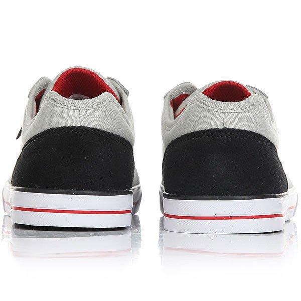 Кеды низкие детские DC Tonik Grey/Black/Red