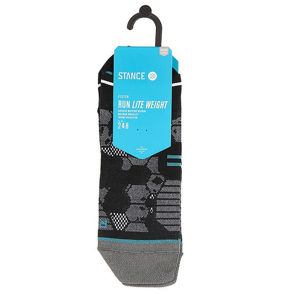 Носки низкие Stance Run Mens Honor Tab Lw Black