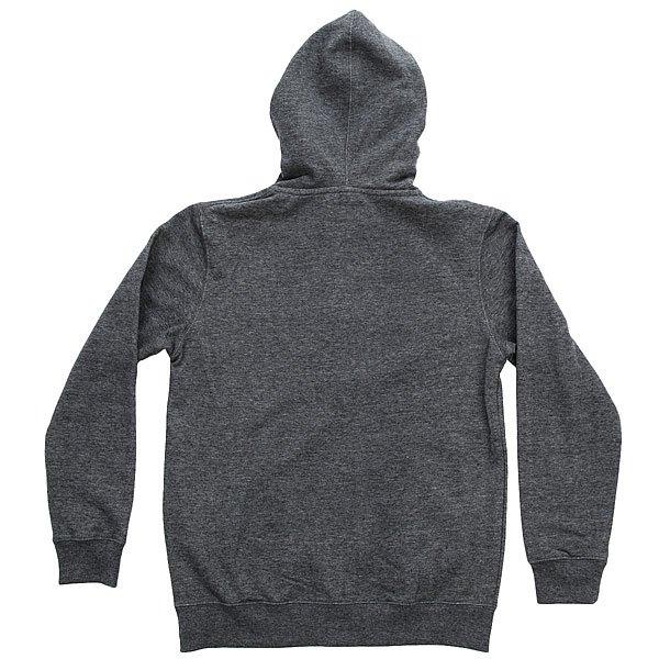 Толстовка классическая детская Billabong Watcher Zip Hood Dark Grey Heath