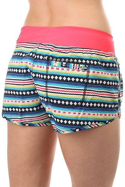 Шорты пляжные женский Billabong Sol Searcher Volley Stripes